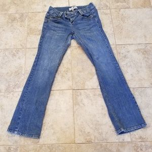 Jolt Good Condition Bootcut Stretch Blue Jeans